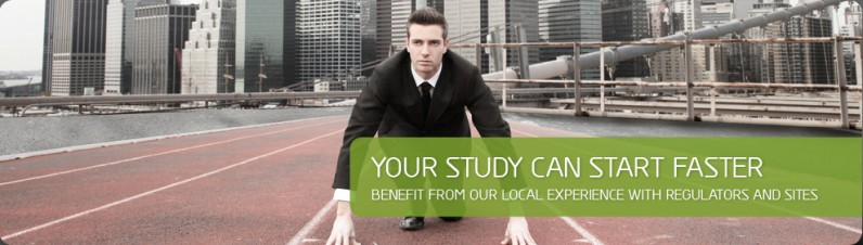 Your study can start faster