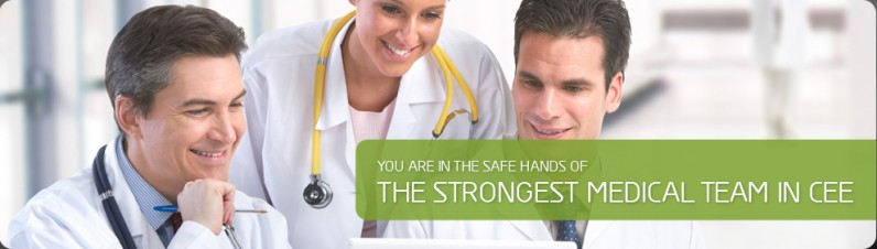 The strongest medical team in CEE